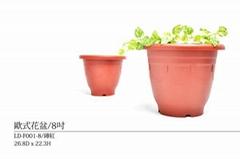 塑膠製花盆