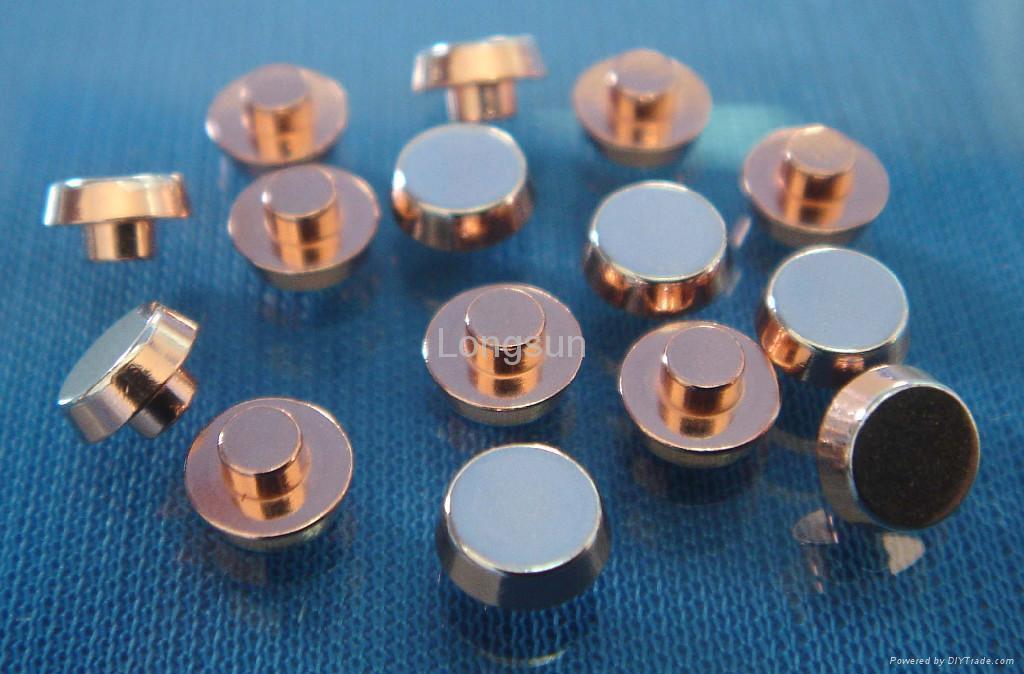Bimetal Electrical Contacts - All kinds - Longsun (China ...