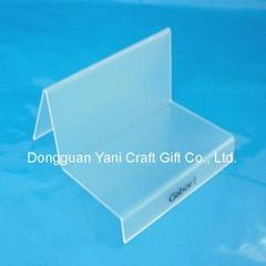 acrylic bag display rack