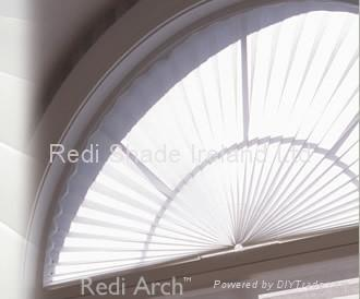 Arch Pleated Blind 3362548 Redi Shade Ireland Trading