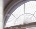 Arch Pleated Blind