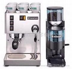 Silvia半自动咖啡机+Rocky磨豆机