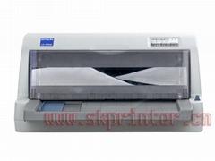 爱普生LQ-630K小巧平推二手国标税控发票打印机