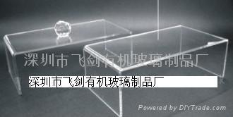 有機玻璃U形展示架 1