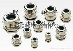 铜制电缆防水锁头、铜制电缆固定头