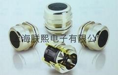 防磁波铜制电缆固定头、防磁波铜制电缆防水接头