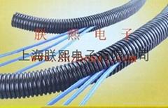 剖開型塑膠浪管、剖開型塑波紋管