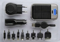 Solar Charger with Accessories S-1800
