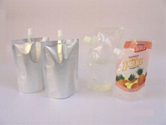 food(beverage) packaging - self standing spout pouch