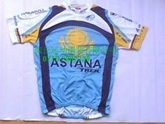 6A ASTANA cycling jersey ss