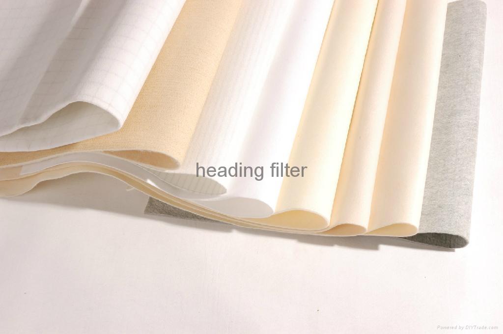 PTFE coated polyester needle felt for filter bag 2
