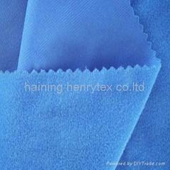 spandex brushed fabric