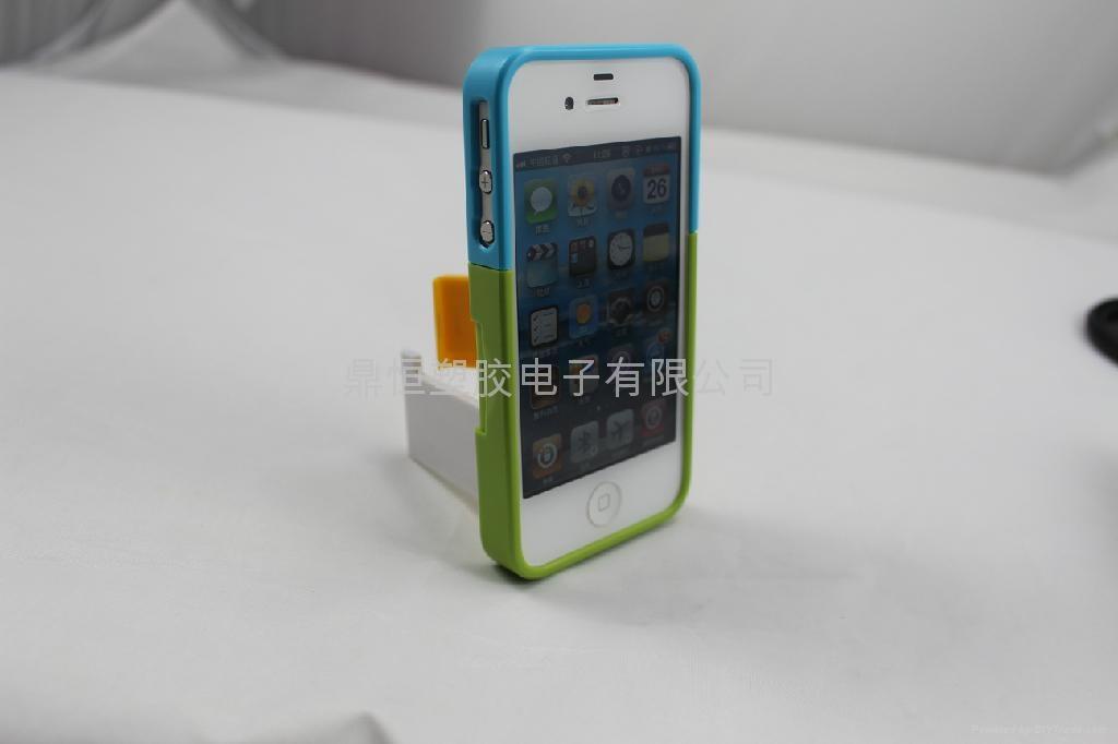 IPHONE4/5 百葉窗支架手機   3