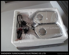 2011 NEW motorcycle mp3 mirror 128MB TO 4GB, 12V-15V DC