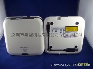 Ultra Slim Mini portable External DVD-ROM 1