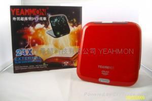 Ultra Slim Mini portable External DVD-ROM 3