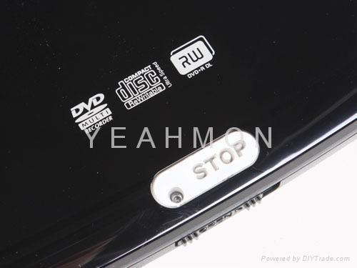 Mini slim external DVD -RW drive 4