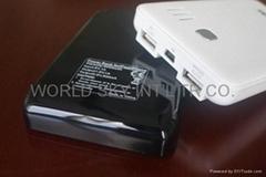 双USB接口移动电源6000毫安