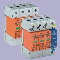 V25-B+C/3+NPE/FS   电源遥信触点防雷器 1