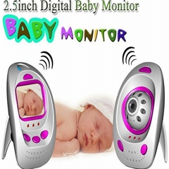 2.5-inch Wireless Digital Baby Monitor