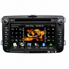 Special car PC with WinCE O/S - 7 inch digital panel touch screen DVD player