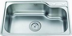 one bowl kitchen sink