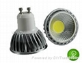 Newest type 2013 LED Bulbs GU10 COB 3W