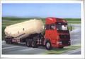 Powder material truck
