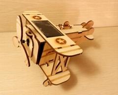 DIY太阳能木制玩具