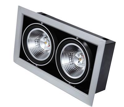 new design led venture lamp 2 spot light with aluminum. Black Bedroom Furniture Sets. Home Design Ideas