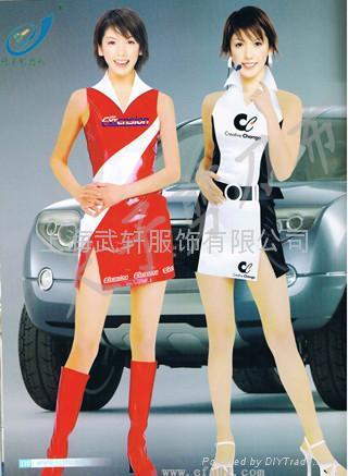 上海促销服 1