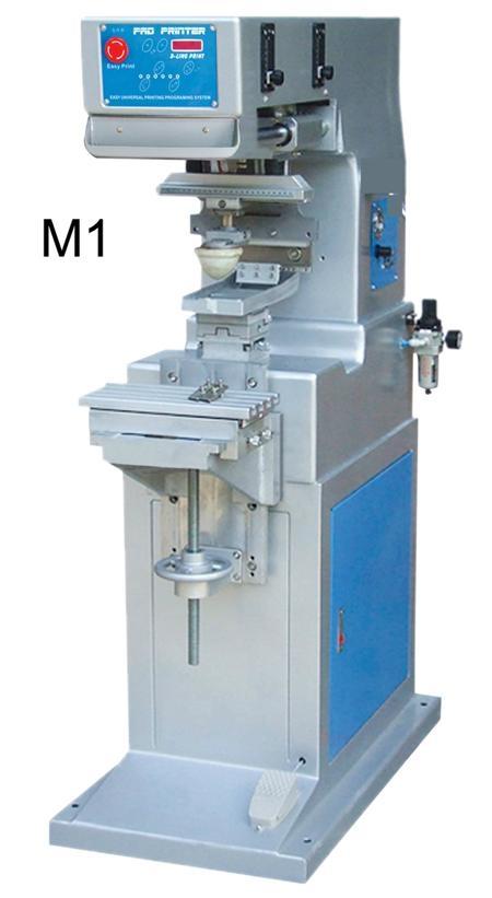 專印電子玩具儀器配件雙色座地油盤移印機 2