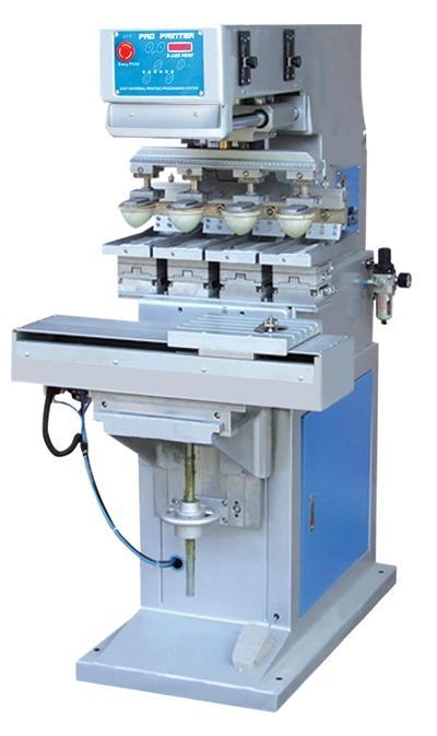 專印電子玩具儀器配件雙色座地油盤移印機 3