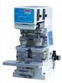 專印電子玩具儀器配件雙色座地油盤移印機 5
