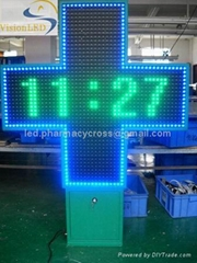 Pharmacy Cross 100*100cm Dual Color for Outdoor with CE(Many Sizes and Colors)