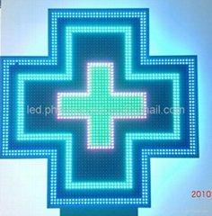 Led Cross Full Color for Outdoor with CE