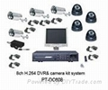 8Ch Network DVR & Camera CCTV System