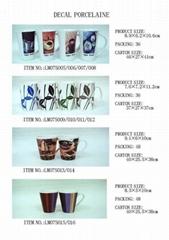 decal porcelain Mug