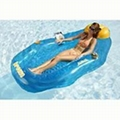 inflatable lounge float/float mattress