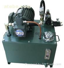 中高压齿轮泵油压系统 系统压力:7.0~21.0MPA流量
