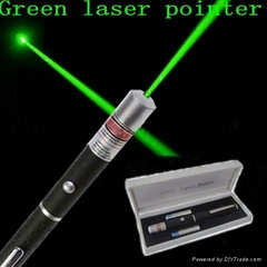 green light laser pointer