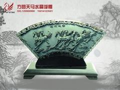 深圳水晶浮雕工艺品定制