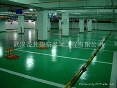 武漢羽毛球塑膠運動地板