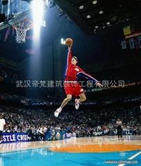 武漢PVC籃球運動地板