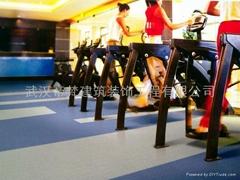 武漢健身房專業運動地板