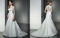 2011 New Arrival ball gown wedding gown