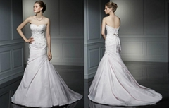 newest style bridal wedding dress elegant dress