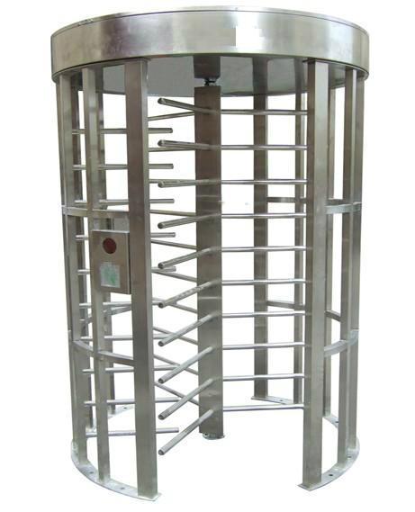 Full height turnstile road barrier swing gate