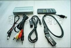 厂家直售汽车音响改装车载MP5网络电视播放器 RM-800
