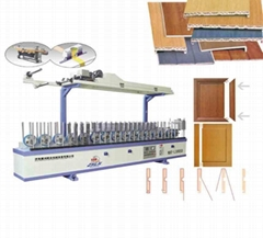MBF—L300SD PVC Profiles Wrapping Machine (Scale Gluing)